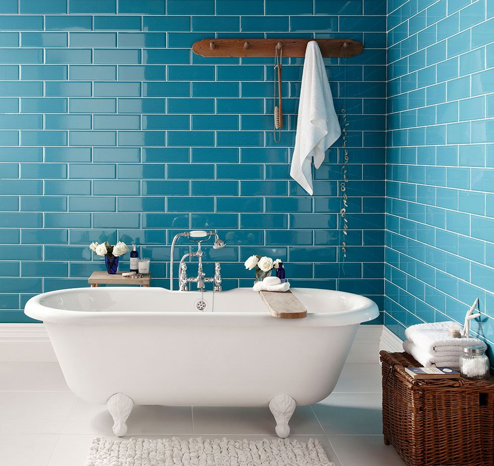Tile Patterns That Will Revive Your Bathroom | home | Pinterest ...