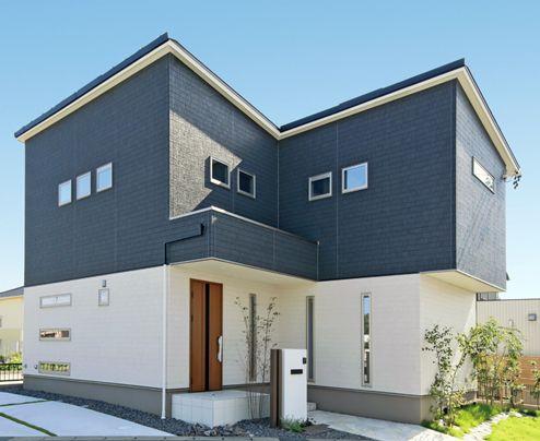 わが家の壁サイト 外観 内壁コーディネートサイト ニチハの住宅施工