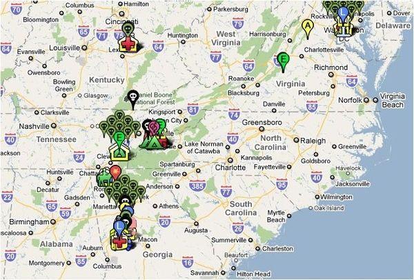 Mapa The Walking Dead.The Walking Dead Google Map The Walking Dead The Walking