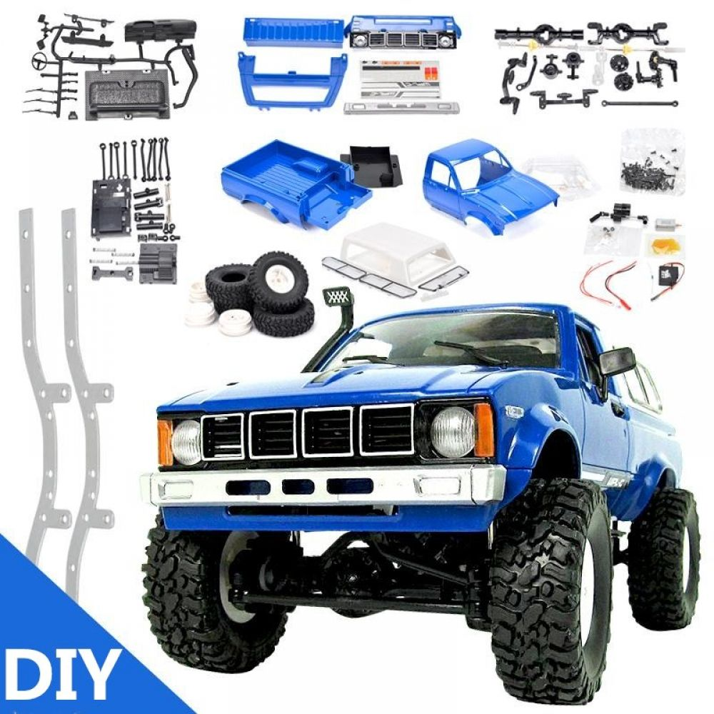 WPL C24 DIY Radio Controlled Cars Off Road RC Car Parts 1