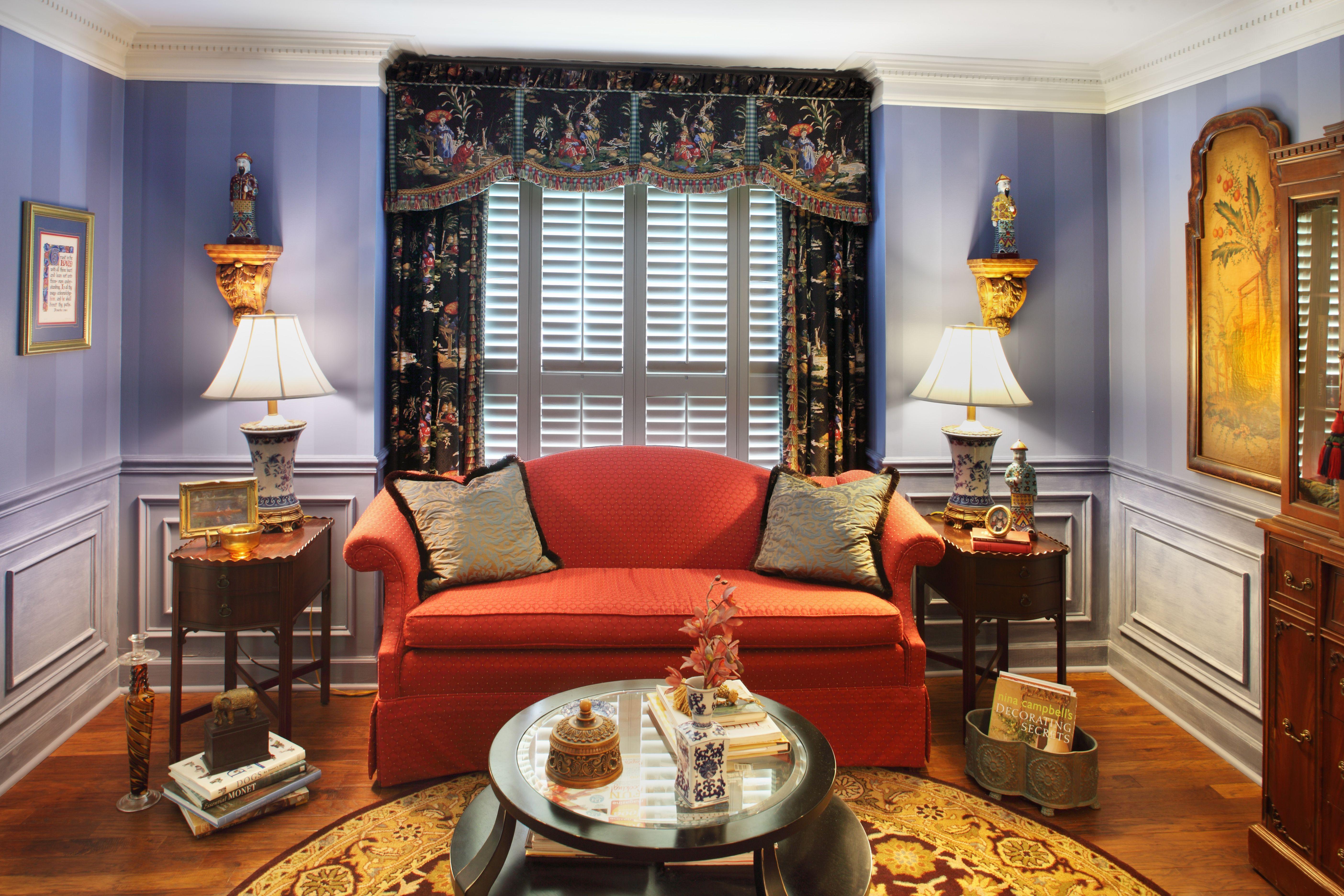 Valerie Garrett Interior Design. Macon, GA. Living Room