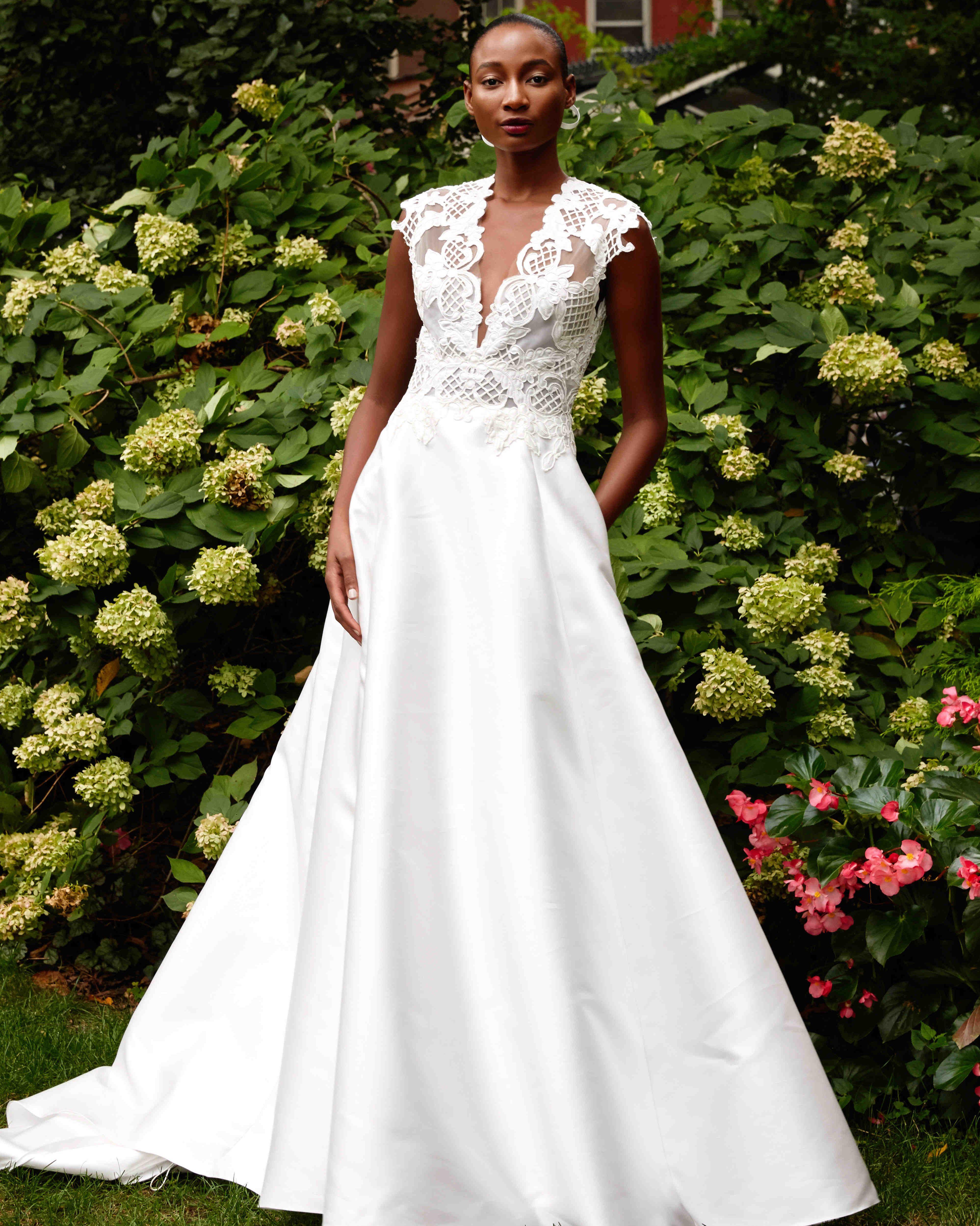 Lela rose fall wedding dress collection bridal fashion week