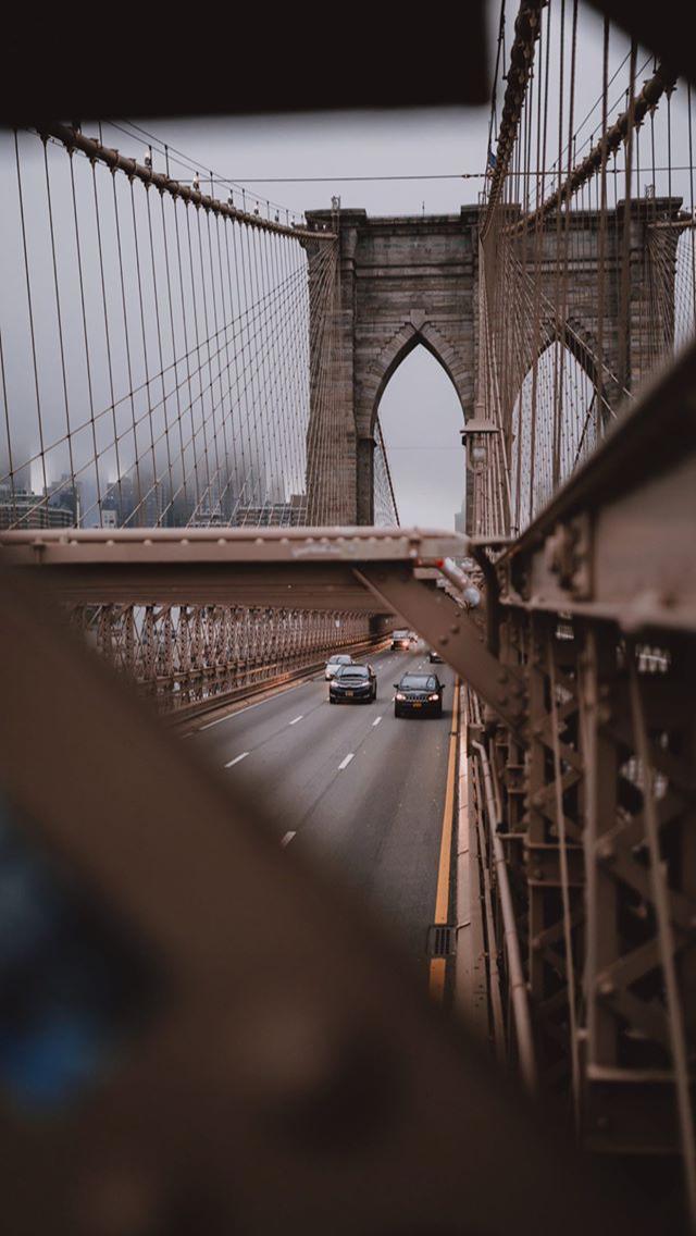Pin By Nastia On Wallpapers Scenic Brooklyn Bridge Landmarks