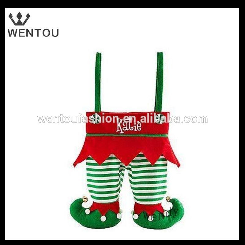 Wholesale personalized elf pants stocking