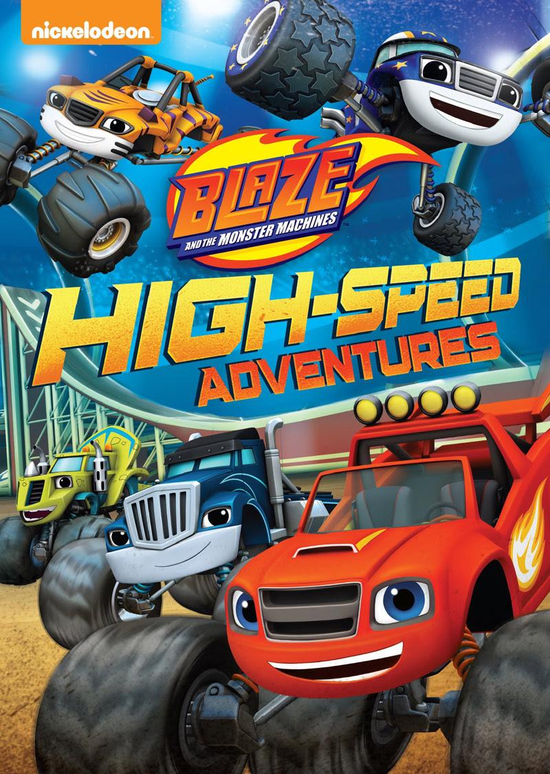 Sweet Cheeks Adventures: Blaze and the Monster Machines: High Speed Adventures