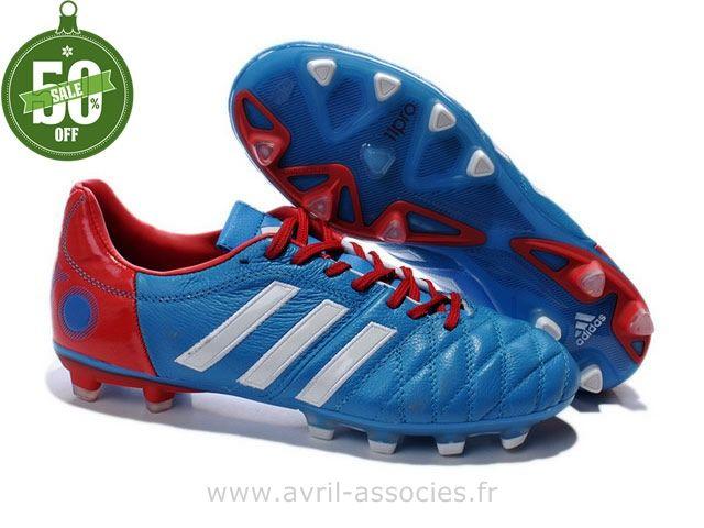 b458f6a24e1 ... new style boutique chaussures de foot adidas adipure 11pro trx fg bleu  rouge blanc f50 adizero ...