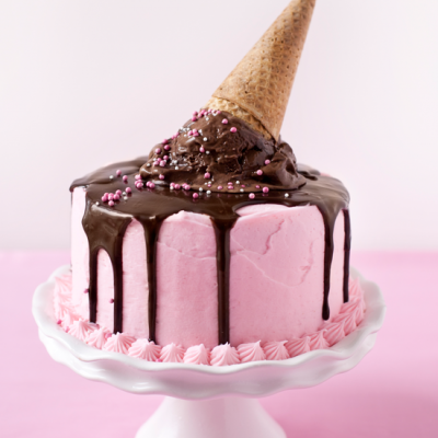 one charming party ice cream cake