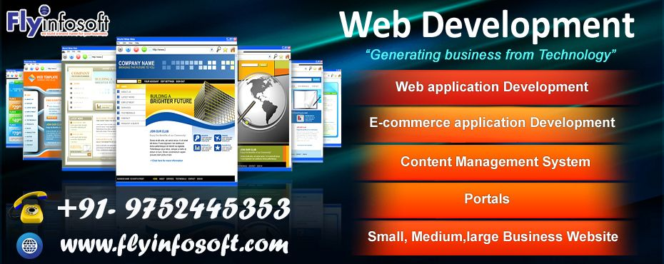 Fly Infosoft Is Bhopal S Very Popular Company For Website Design We Are Fastest Growing Co Web Development Website Development Company Web Development Company