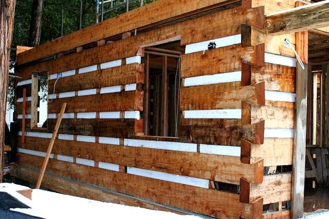 Simple Log Cabin Construction our custom cabin from Stonemill