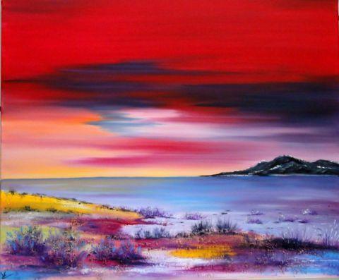 Cv creations peinture paysage peinture a l 39 huile sur for Paysage peinture