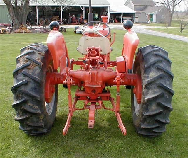 Restored 1966 AC Allis Chalmers D15 series 2 wide front ...