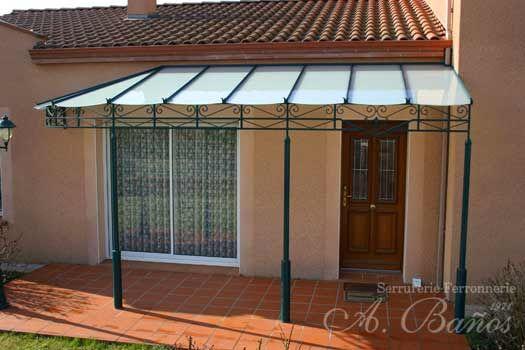 Marquise pour une terrasse | Extérieur maison | Pinterest ...