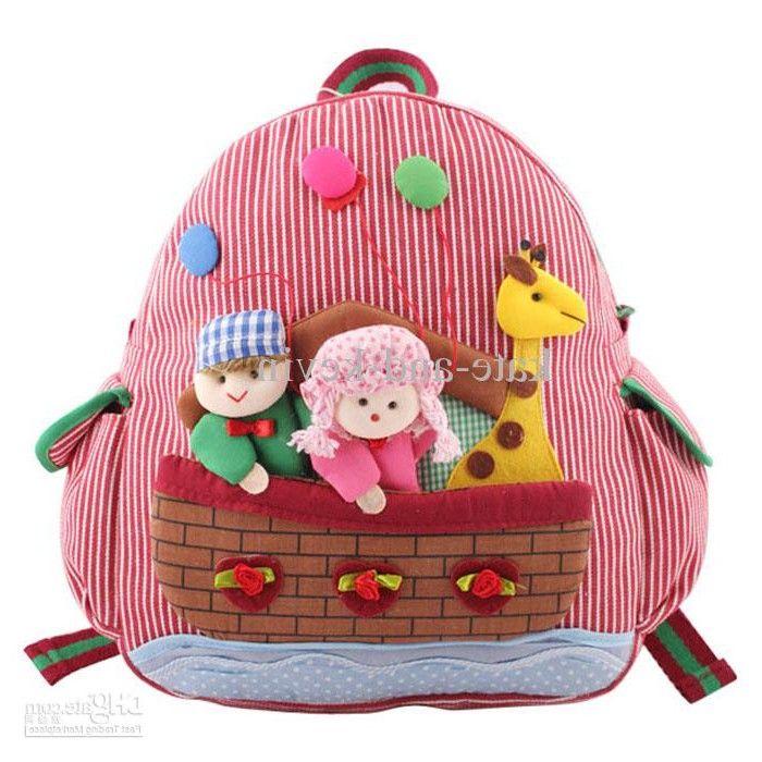 Wholesale New Children's backpacks baby Kids Handmade Backpack ...