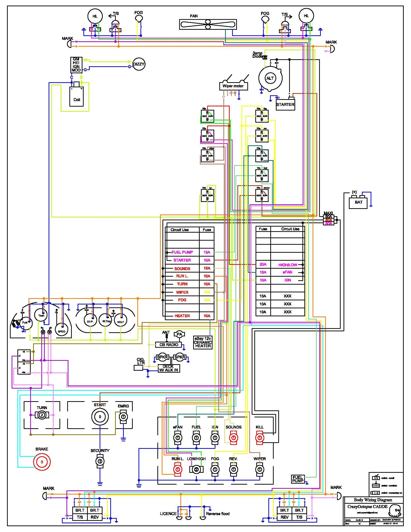 260z Ignition Switch Wiring Diagram Electrical Diagrams Jeep Hei Block And Schematic U2022