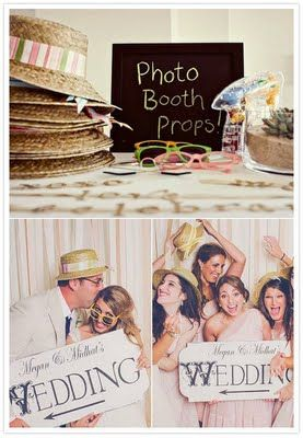 cute sign for photo booth