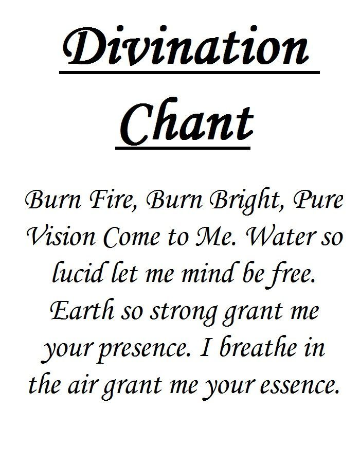Divination Spell Pics  Google Search  Divination