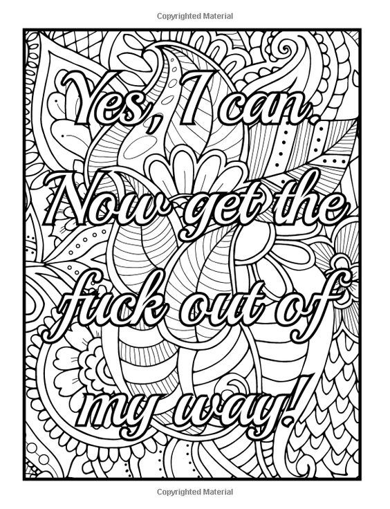 amazoncom be fcking awesome and color an adult coloring book - Naughty Coloring Book