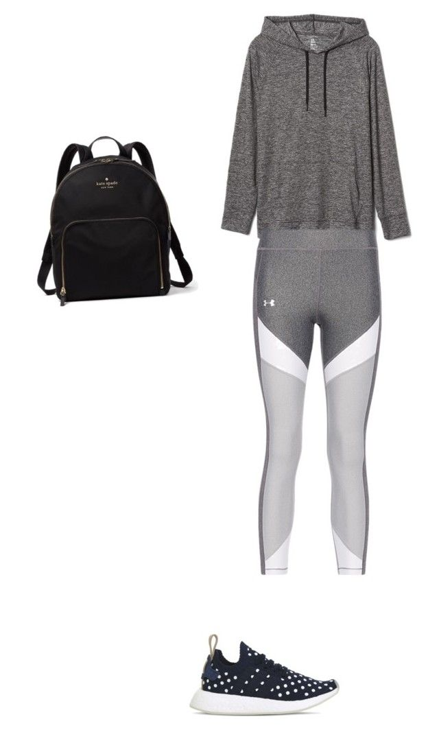 """Untitled #9"" by kennedy-lewis-1 on Polyvore featuring Gap, adidas and Kate Spade"