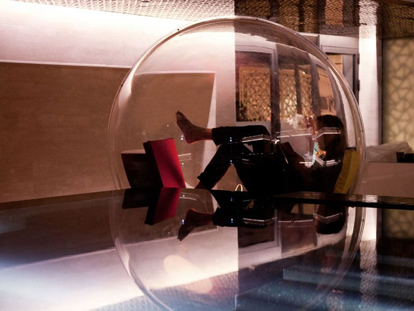 Cocoon 1 Transparent Bubble By Micasa LAB Home Design Ideas