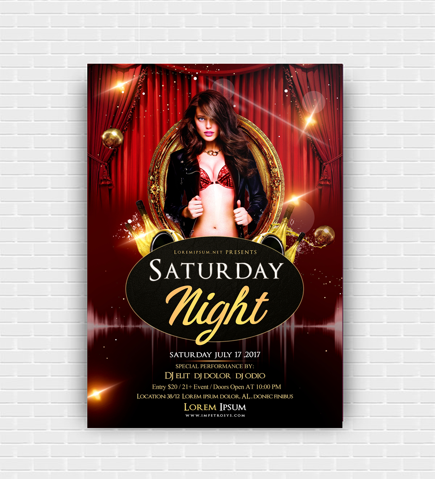 Dj Event Flyer Template Free | Event flyer templates, Event flyers ...