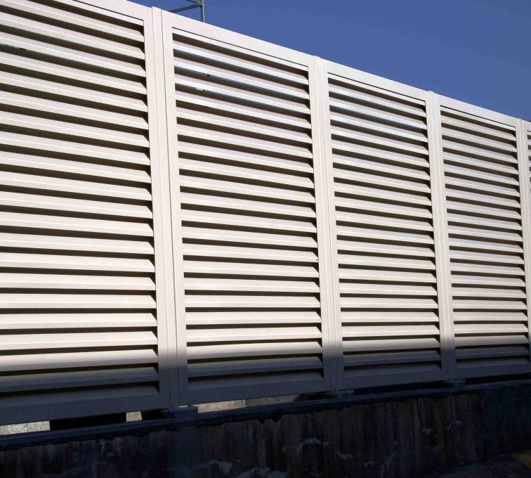 The American Fence Company Louvered Screen Systems Fencing, 2223