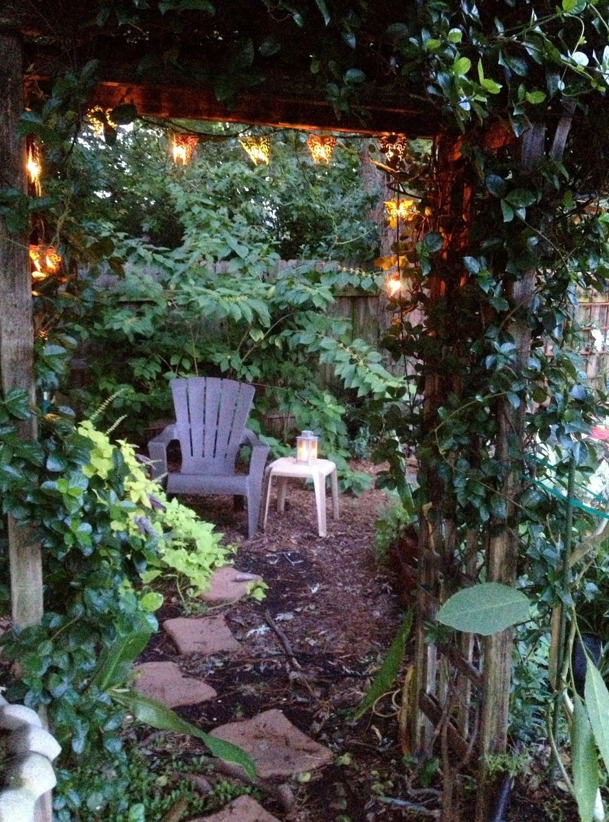 Creating a private seating area in the backyard | Outdoor ...