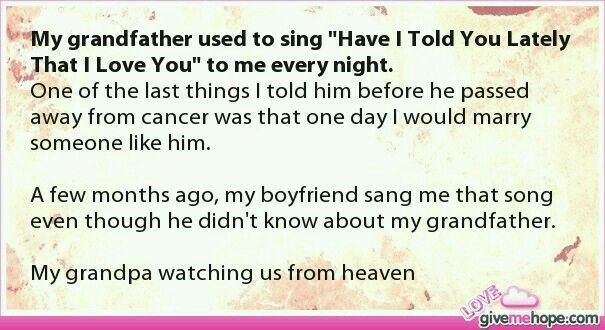 I cried when I read this. In front of my whole family. Then I showed it to my mom. She cried too.