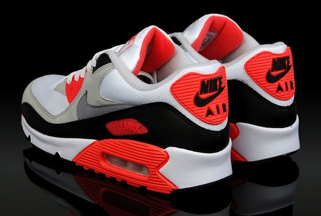 The Evolution Of Nike Air Max 90 Infrared 1990 2012 Clip Mit