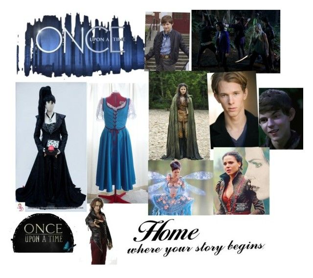 """Once upon a time a great amazing show"" by rachel-malone-1 ❤ liked on Polyvore featuring art"