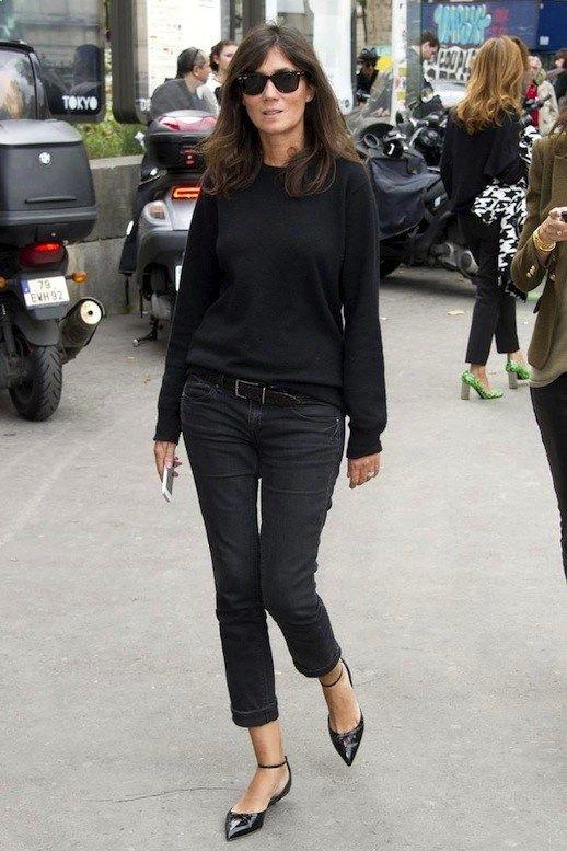 Le Fashion Blog 11 Ways To Wear Kitten Heels Emmanuelle Alt Street ...