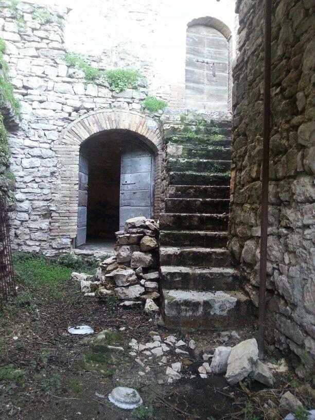 scorcio suggestivo del Castello di Barattano