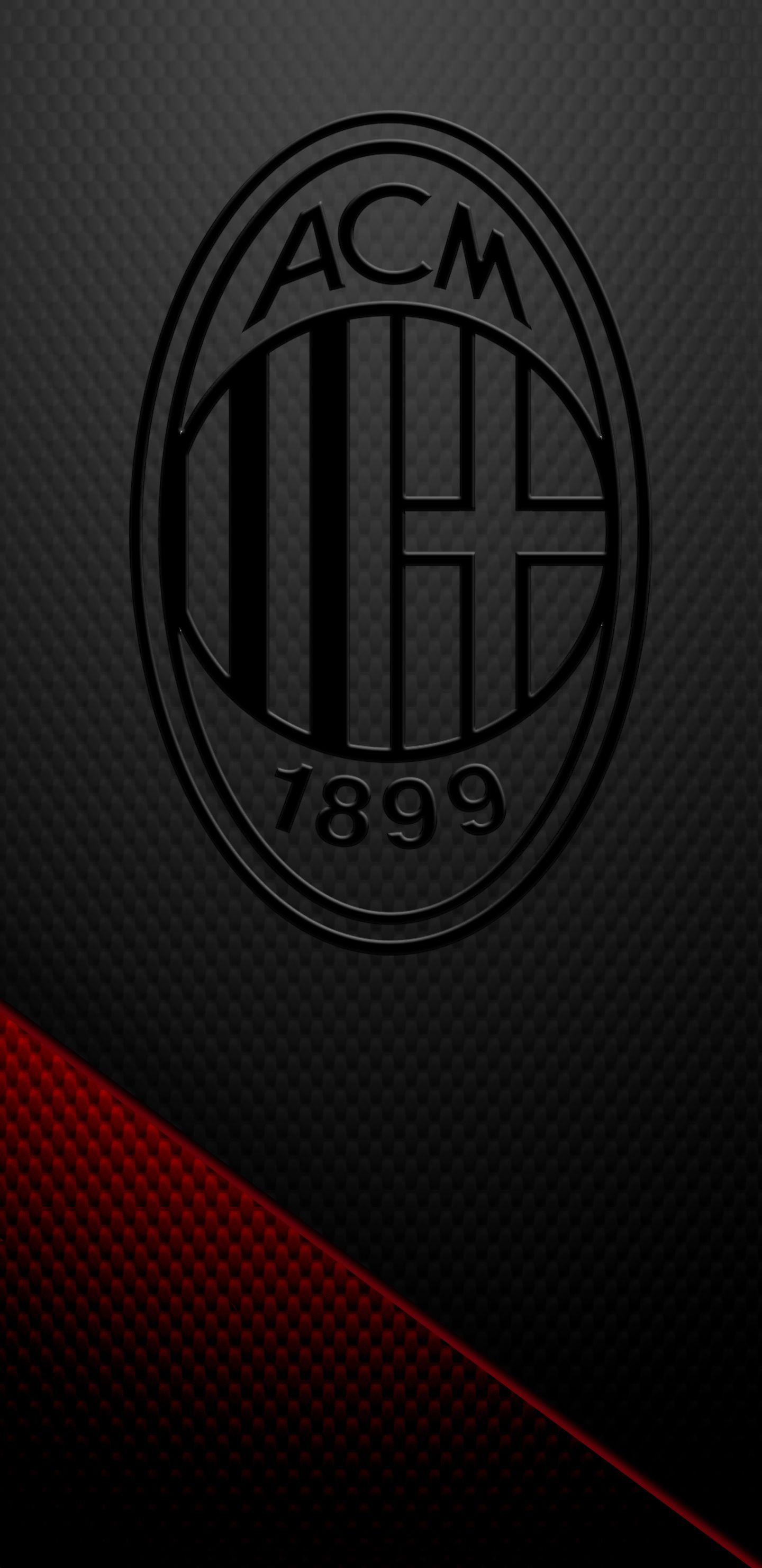 Ac Milan Blackout Wallpaper Bola Kaki Sepak Bola Penjaga Gawang