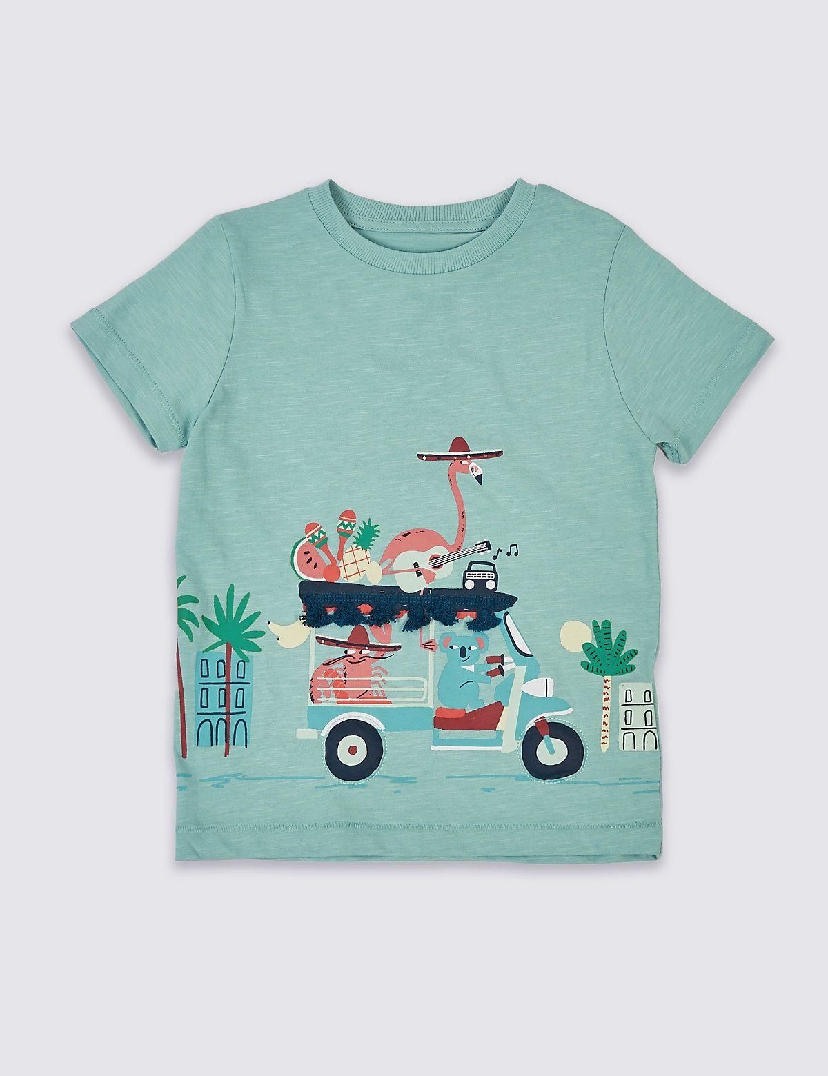 Baby Fun Imprimé Tops Infant Kids Cute Graphic Sweat-shirt manches longues t shirts