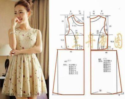 Como fazer um vestido curto de festa