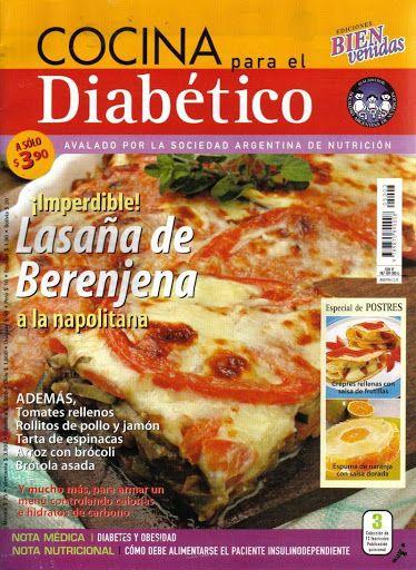 cocina para diabeticos no 3 revistas de reposterias y