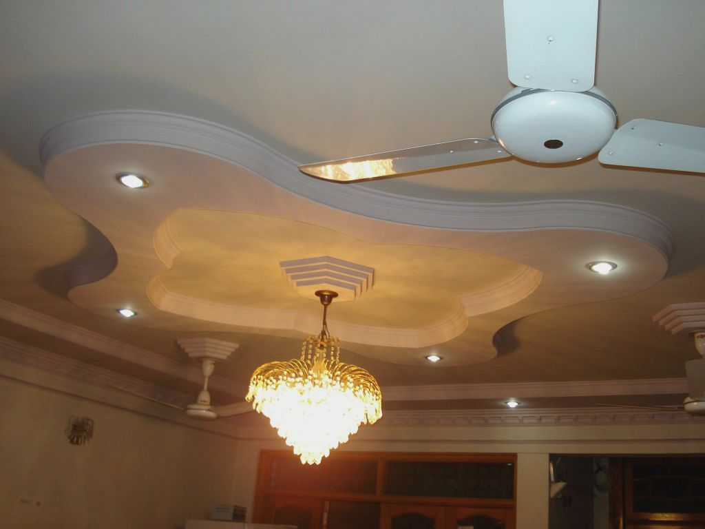 All pictures of pop design for ceiling find show all pictures of pop - Modern False Bedroom Designs Ceiling Pop With White Fan On Plafond As Well As Great Glass Bedroom Chandeliers On False Plafond Inspiring Luxury Master Bed