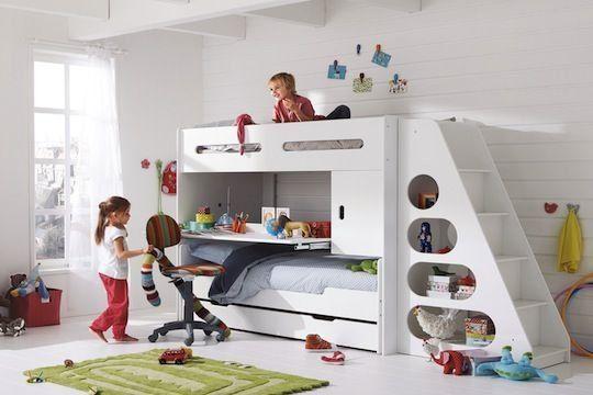 Chambre d 39 enfant de 4 12 ans des id es pour la for Modele chambre petite fille