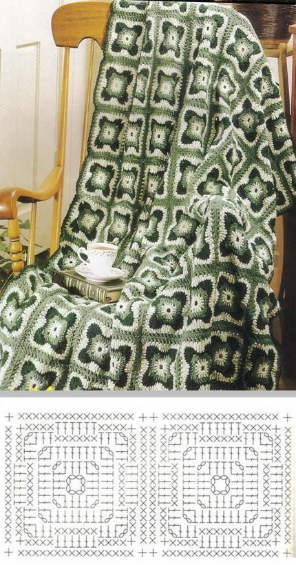 Pin de Margarita Corchado en Afghan Crochet Patterns | Pinterest ...
