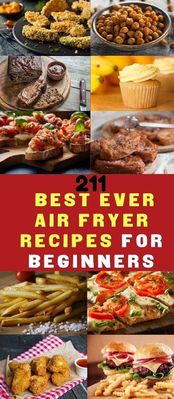 Air Fryer Recipes for beginners. The Air Fryer Cookbook for those of you that want to own or already own an Air Fryer Kitchen Gadget and want lots of air fryer recipes images