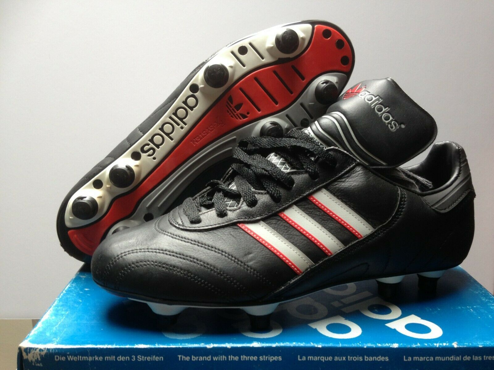 Details About Vintage Retro Adidas Tottenham Football Boots Uk 8 5