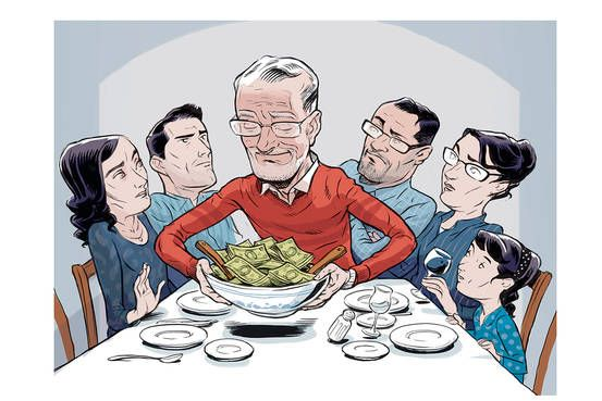 When Families Talk Money, Things Can Get Ugly