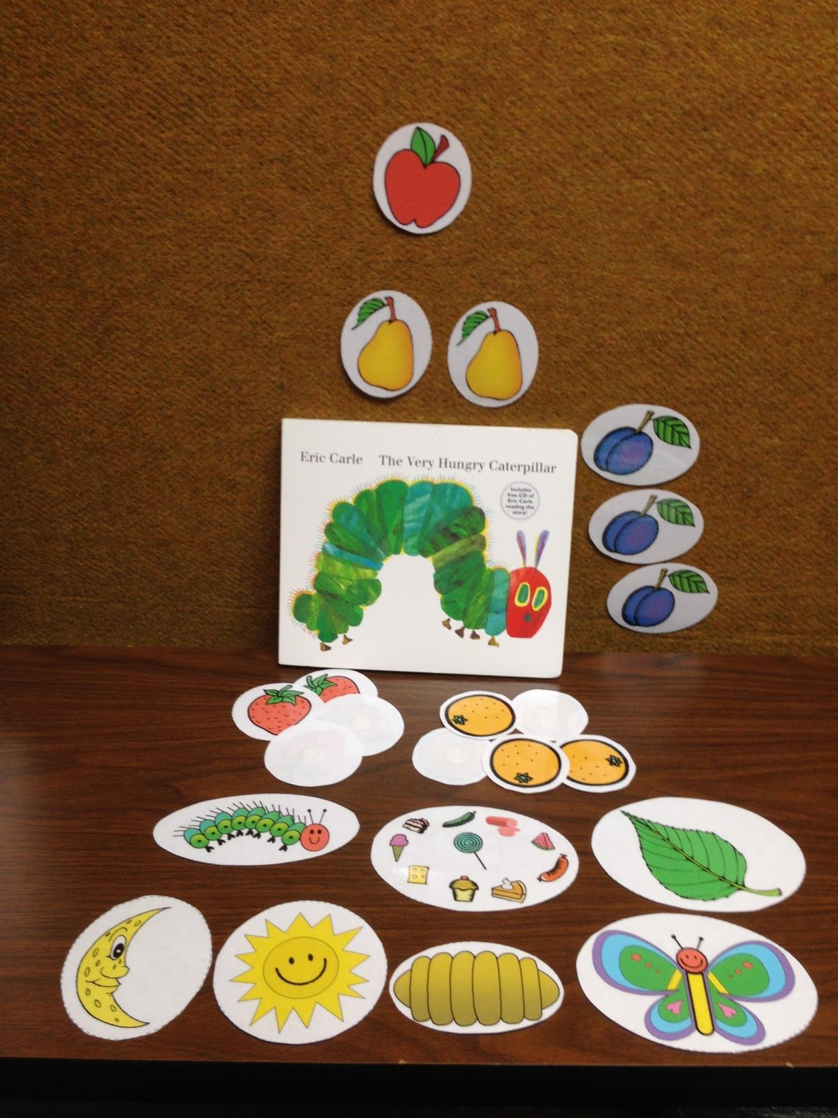 Very Hungry Caterpillar Sequencing
