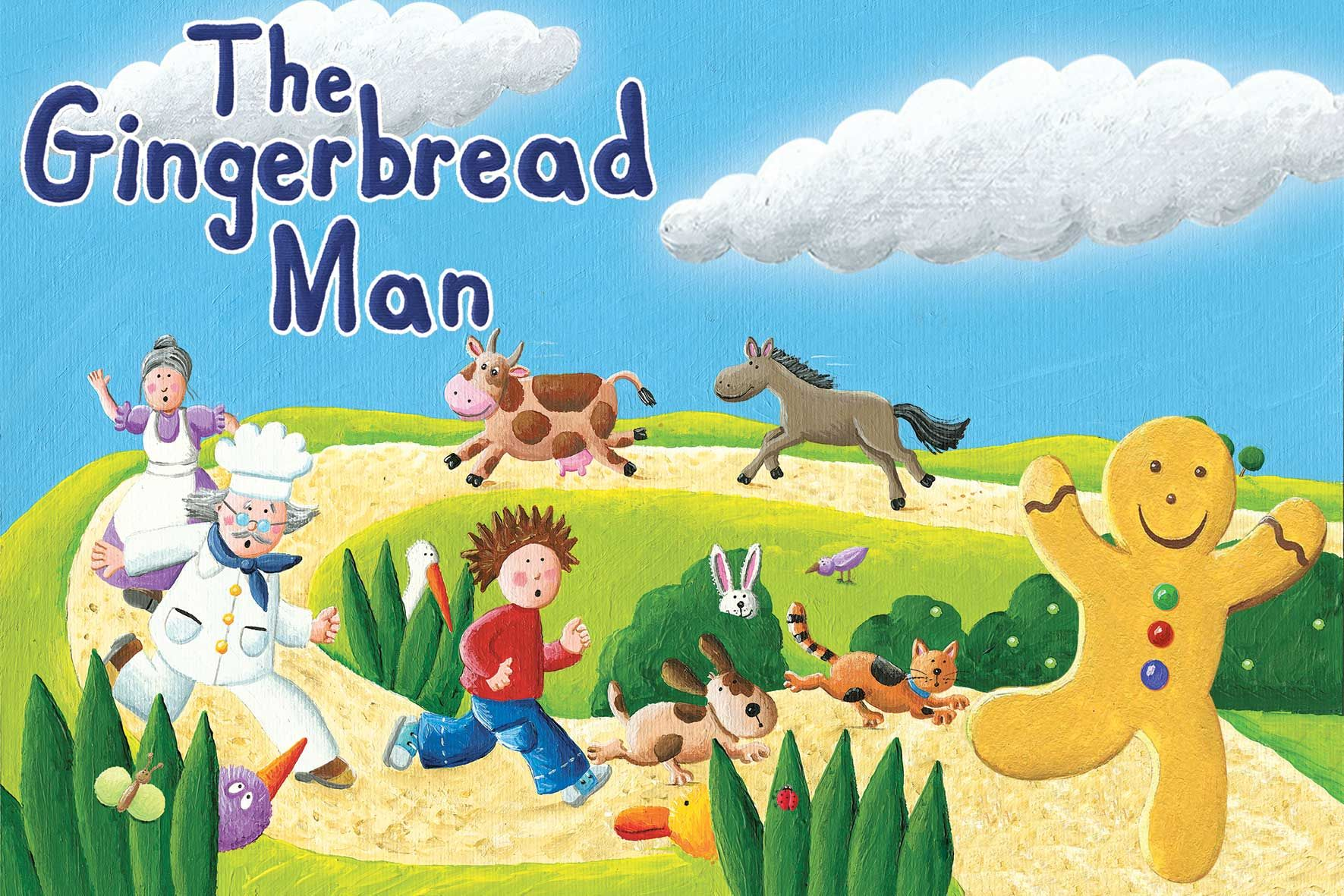 Gingerbread Man Catch Him Before He Gets Away
