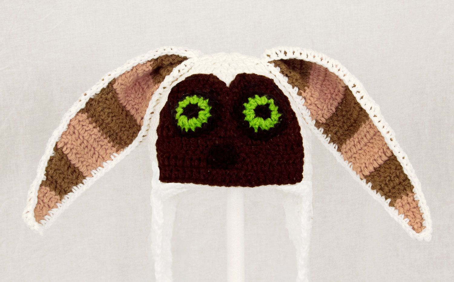 Momo The Flying Lemur Earflap Hat from Avatar the Last Airbender ...