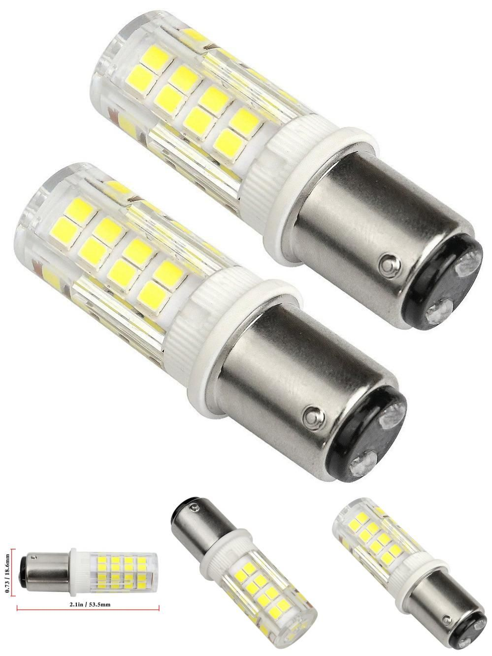 Visit To Buy Ba15d Led Bulb 220v 4w Equivalent 40w Halogen Lamp Daylight White 6000k Led Lamp Double Bayonet Sewing Mach Halogen Lamp Led Bulb Led Light Bulb