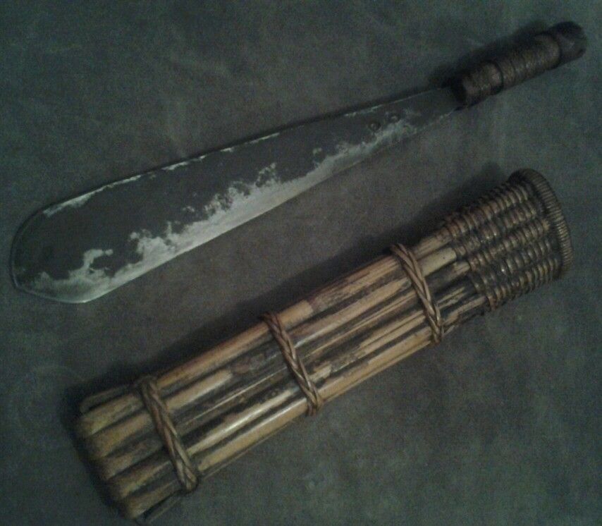 Amazing Igorot_Bontoc machete,Phillippines.