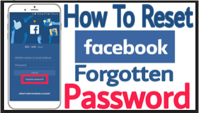 I find on facebook where my do password Recover lost