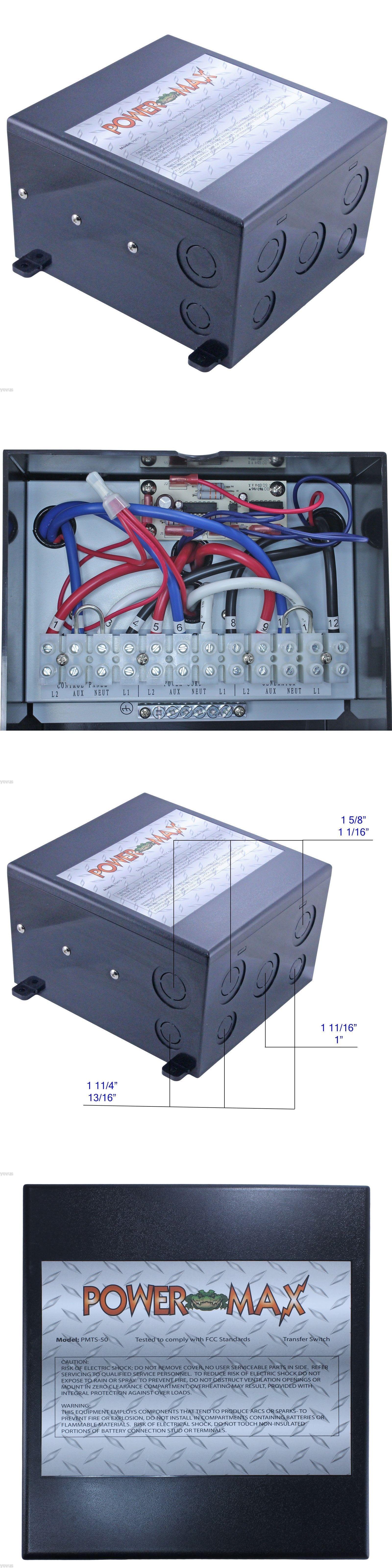 circuit breakers and fuse boxes 20596 powermax pmts 50 50 amp 120 240 vac [ 1600 x 6400 Pixel ]