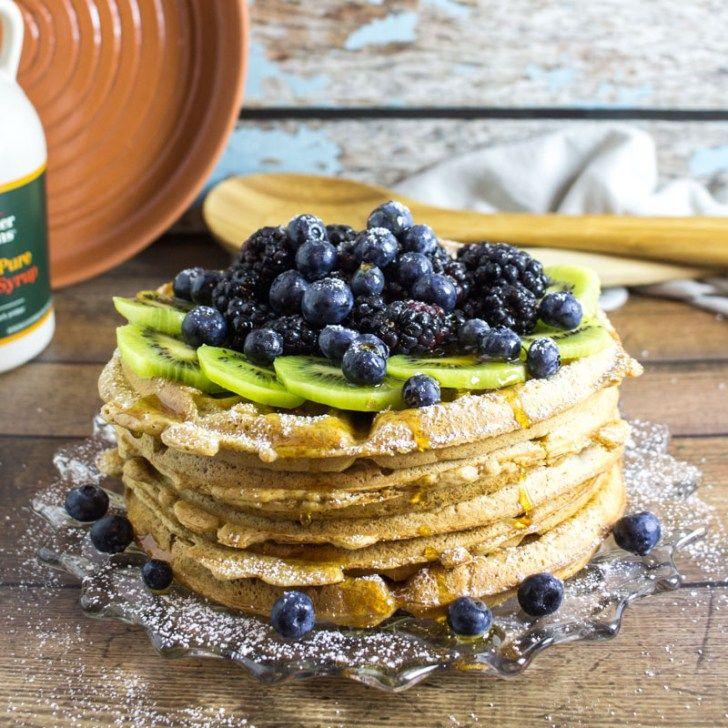 Easy vegan waffles boardsknives vegan waffle recipe