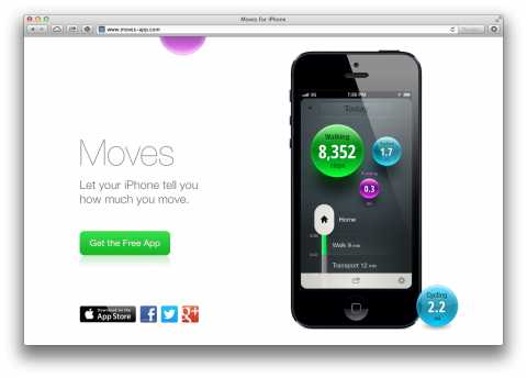 Moves App (With images) Moves app, Iphone apps, App